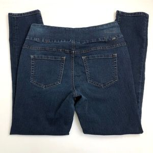 Jag Size 10 Skinny Jeans Pull On (Act 32W 30L)